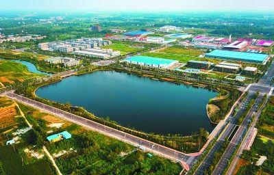 """阜合现代产业园区:皖北崛起""""合肥""""图片"""