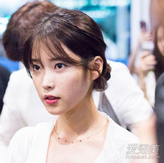 《W-两个颜色》韩孝周的世界美炸了朴信惠IU韩国头发发型v两个图片