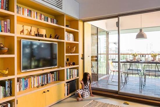 折叠空间 开放性极佳的80平公寓