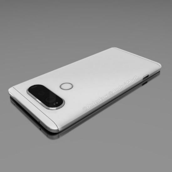 LG V20渲染图曝光 双屏幕 双摄像头