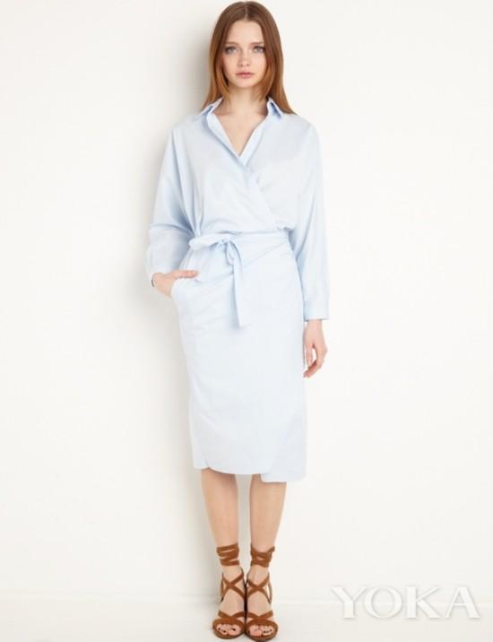 衬衫裙来自PIXIE MARKET 售价651元