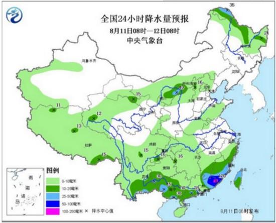东北华北等迎较强降雨 中东部高温持续