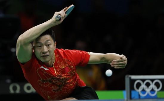 里约奥运乒乓球男子单打:马龙夺冠(图)