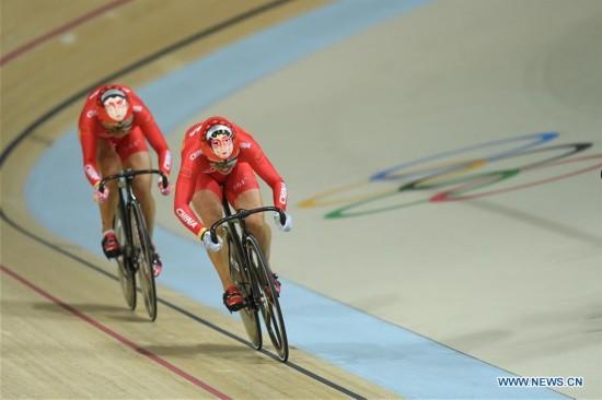 (SP)BRAZIL-RIO DE JANEIRO-OLYMPICS-CYCLING TRACK