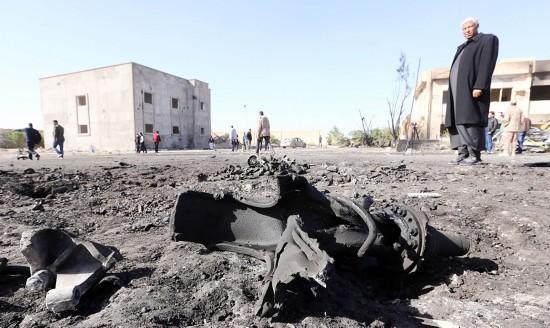 """称""""安全形势复杂"""" 美军从利比亚撤人"""
