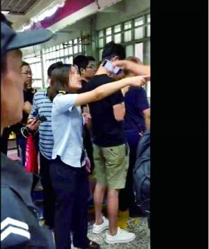工作人员与乘客对骂 北京地铁证实并致歉(图)