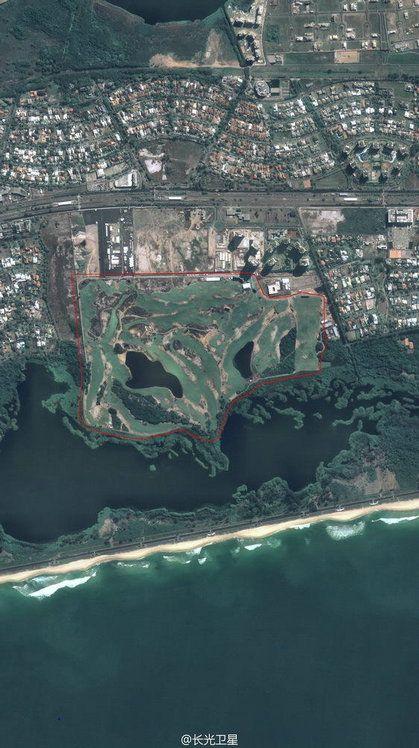 中国商业卫星在太空看里约奥运 意外发现航母