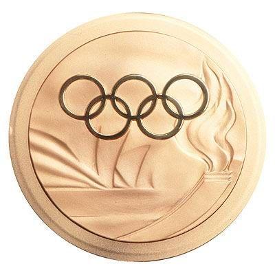 2000悉尼奥运会奖牌不好
