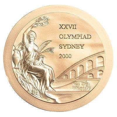 2000悉尼奥运会奖牌正面