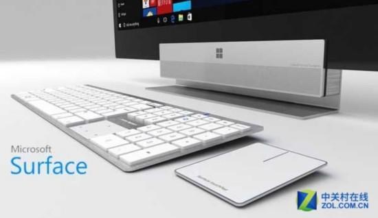 瞄准iMac 微软测试3款Surface一体机
