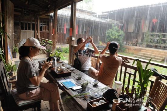 """闽侯""""归农书院""""修缮后开放 体验原生态慢生活"""