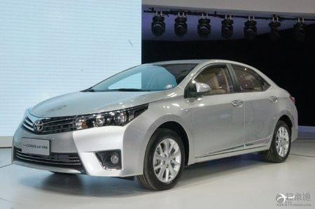 丰田汽车 中国 汽车 卡罗拉