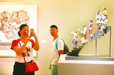 2016中国美术馆收藏青年美术家作品展举办