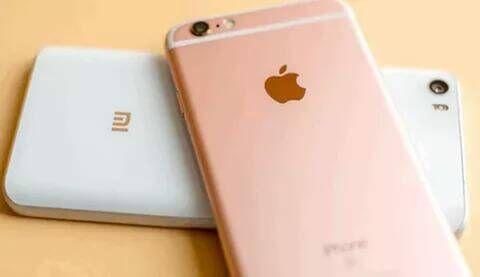 外媒:小米和手机苹果在中国手机销量明显下滑北市场小图片