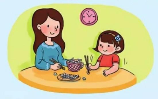 筷子简笔画 步骤图解