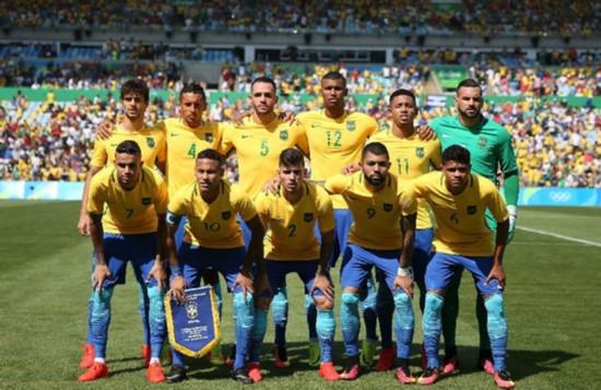 巴西德国轻松进决赛 东道主冲击奥运男足金牌
