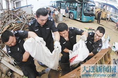 大连公交集团销毁67万枚假、残币