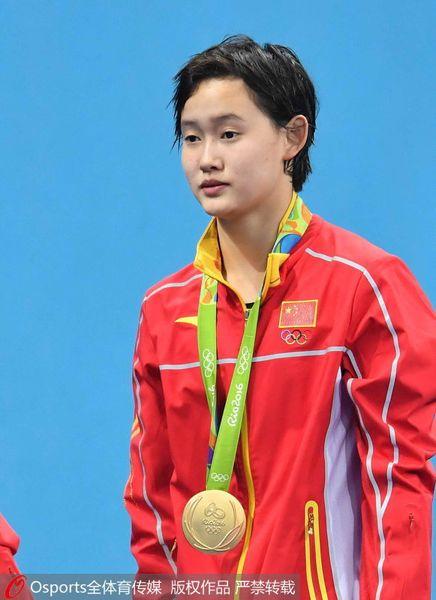 女子十米台任茜夺冠