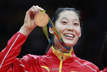 中国女排逆转夺奥运金牌 朱婷当选女排mvp 扣杀表情包