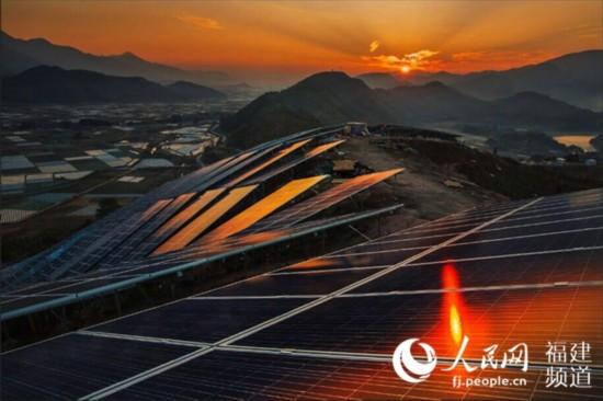 福建容量最大光伏发电站绘就山区绿色发展蓝图