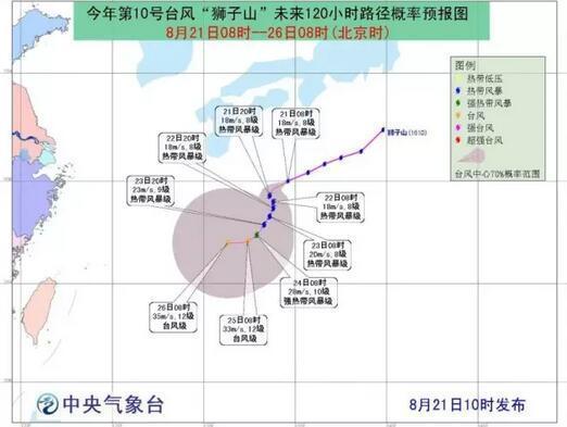一天内两个台风生成 福建未来10天将持续高温