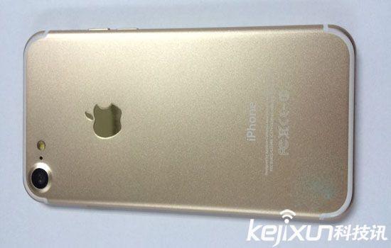 苹果7土豪金色高清谍照来袭 专业解析iPhone7