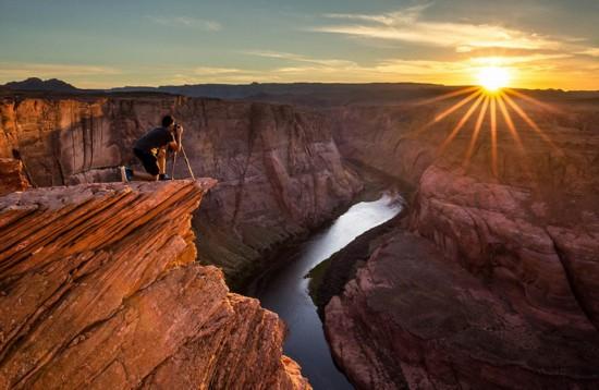 摄影师捕捉美国最美风景 如梦如幻