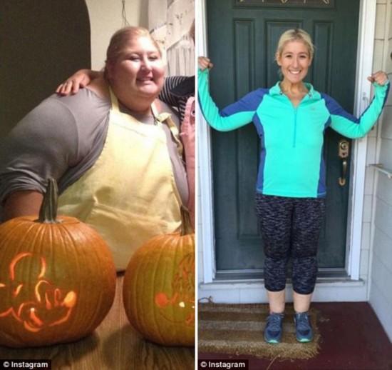 美国肥胖女孩减重323斤 演绎励志人生(组图)