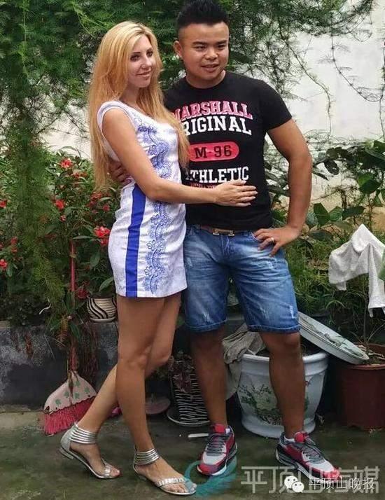 河南农村小伙娶乌克兰23岁美女 相识俩月就领证
