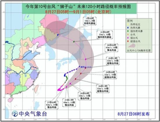 南方高温消退降雨来袭 台风或入东北