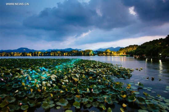 CHINA-HANGZHOU-G20-NIGHT VIEW(CN)