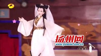 真人木偶亮相湖南卫视 扬州3D木偶再现经典