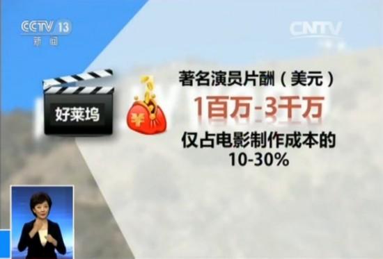 央视批天价片酬 与《太阳的后裔》制作费用成鲜明对比