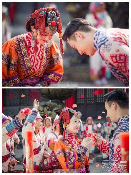 《老九门》赵丽颖陈伟霆结婚(组图)