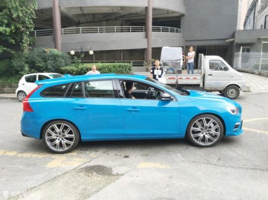 成都车展探馆:遇 沃尔沃S60/V60性能版