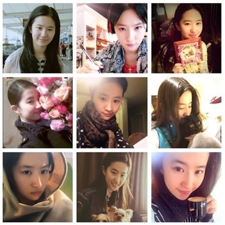 素颜圈粉的女明星:刘亦菲素颜比化妆都美 范冰冰越来越少女