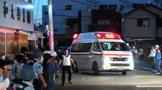 日本男子枪击4人 与警方对峙18小时后开枪自杀(组图)