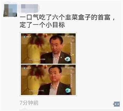王健林小表情成为走红新目标先挣一个亿引表情作文包甲骨文图片