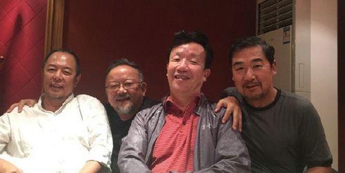 """张国立王刚张铁林重聚 """"纪晓岚""""""""和珅""""再聚首图片"""
