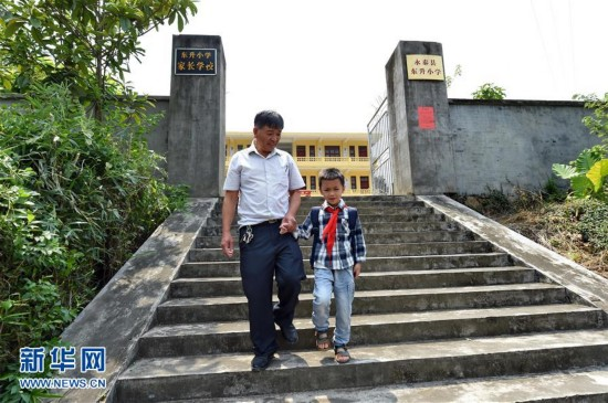 福建永泰:一个学生的学校如期开学(组图)