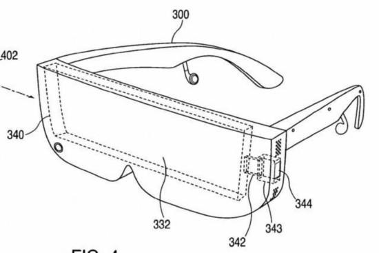 外观很科幻!苹果VR头戴显示设备专利曝光