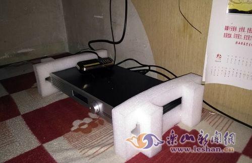 房间内发现正在工作的播放器