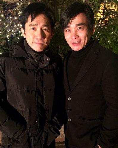 梁朝伟(左)和徐上威