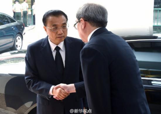 李克强总理吊唁乌兹别克斯坦总统卡里莫夫逝世