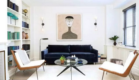 60�O公寓 清新舒畅的简约小户型