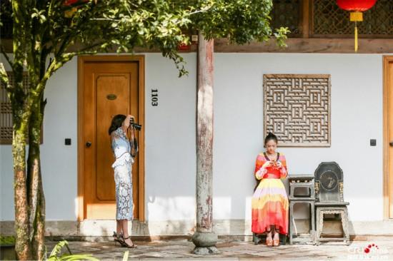 《我们来了》江一燕摄影获赞 陈乔恩:你才是最美的风景