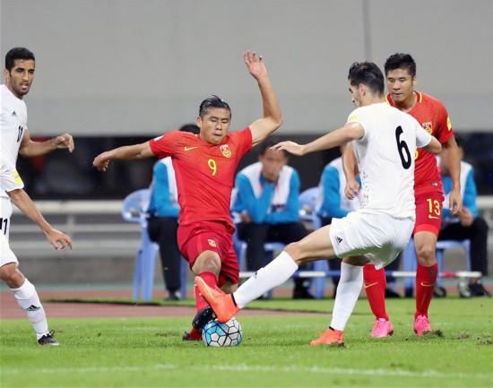 世预赛-主场0-0平伊朗 国足获12强赛首个积分