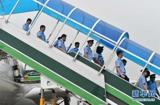 129名电信网络诈骗犯罪嫌疑人从亚美尼亚被带回中国大陆