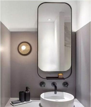 卫浴间里的镜子 竟然也是收纳好手