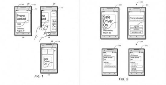 微软申请手机新专利 安全驾驶模式上WP